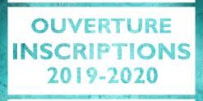 Tout savoir sur les inscriptions 2019/2020